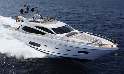 74ft Sunseeker Manhattan