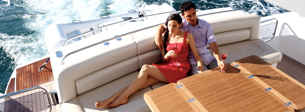 Luxury Sunseeker yachts available for charter in Thailand